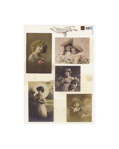 Vintage Knipvel dames meisjes VK9523_small