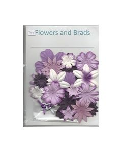 Flowers and Brads mix lia paars 8717973494607_small