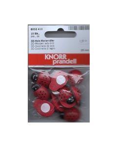 Knor prandell Lieveneerbeestjes 25 mm 10 stk. 8002410_small