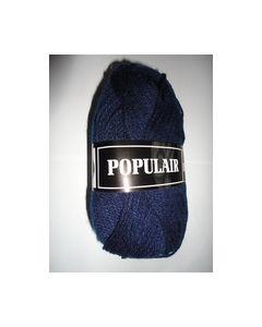 Populair Beijer kleur18 donkerblauw 100% Acryl Breigaren_small