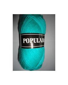 Populair Beijer kleur 70 aqua 100% Acryl Breigaren_small