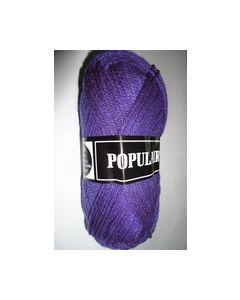 Populair Beijerkleur kl. 61 donke paars 100% Acryl Breigaren_small