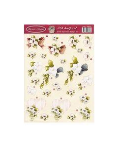 Mariekes design3D knipvel 2665 Bloemen_small