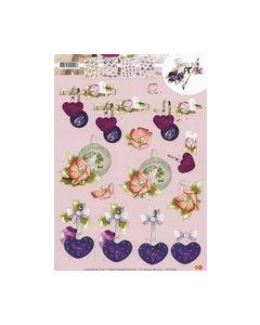Mariekes design3D knipvel CD10298 Kerst_small