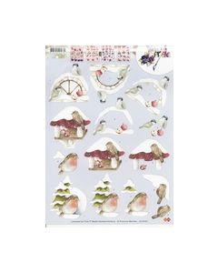 Marieke Precious 3D knipvel 10401 vogels_small