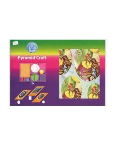 Pyramid Craft kaarten 506-6031 kuikens_small