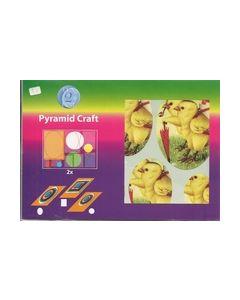 Pyramid Craft kaarten 506-6041 kuikens_small