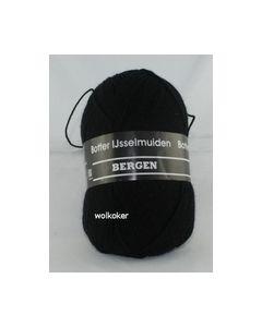 Bergen Botter Ijsselmuiden Zwart Sokkenwol nr. 008