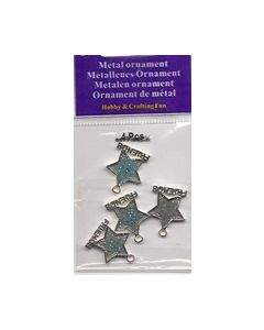 Metelen ornament Ster blauw 11808-1201_small