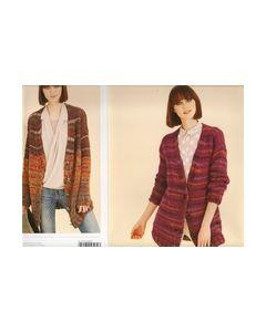 Patroon gebreide jas extra grote jas no.276 Rico Design_small