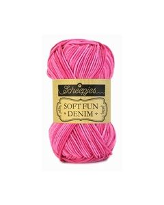 Softfun denim scheepjes pink 503