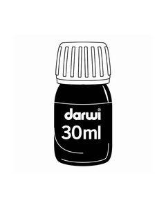 Darwi Ink 30 ml Black DA1500030100_small