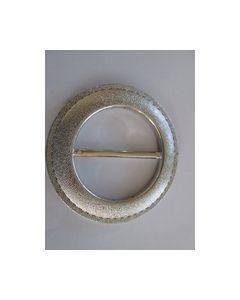 Gesp 278613-60 kleur zilver geribbeld_small