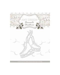 Amy Design Die Brocante Christmas Figure Skates ADD10036_small