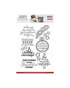 Clearstamp Yvonne Creations Cozy Christmas Tekst YCCS10005_small