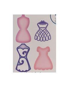 Spellbinders Shapebilities S5-068 decoratieve Dress Forms_small