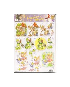 Fantasy World knipvel Bambi-elfjes STAPFW01_small