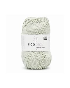 RICO BABY COTTON SOFT DK 49 PASTEL GREEN 383978.049_small