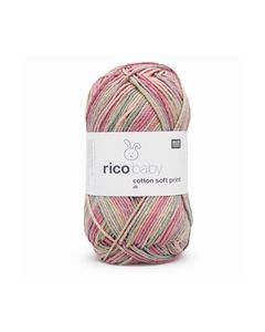 RICO BABY COTTON SOFT PRINT DK 17 TEAL-PINK 383040.017_small