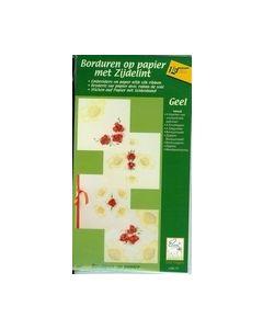 Borduren op papier met zijdelint 4050117_small