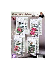 creatief art SWK85-0042S COUNTRYSIDE CHRISTMAS 1_small