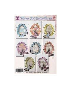 Flower Art Butterflies 01 art.FA65-006_small