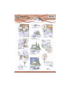 Jeanine`s Art - Winter landscape 2 CD10841_small