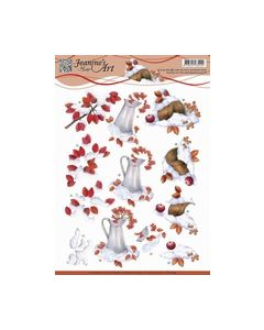 Jeanine`s Art - Winter berries CD10843_small