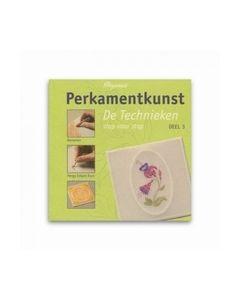 PERGAMANO BOEK PERKAMENTKUNST DE TECHNIEKEN DEEL 3_small