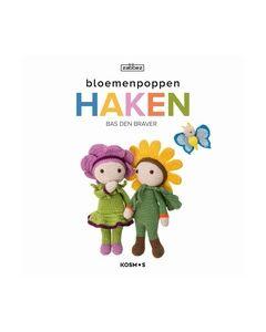 Bloemenpoppen haken Bas Den Braver 9789043920483_small