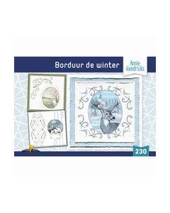 Hobbydols 230 Borduur de Winter - Annie Hendricks