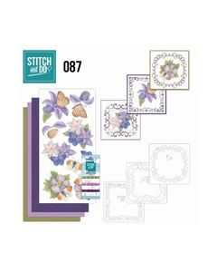 Stitch and Do 87 - Purple Flowers 8718715045927_small