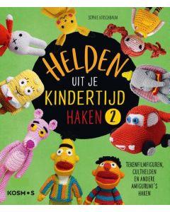 Helden uit je kindertijd haken 2 boek Sofie Kirschbaum merk KOMOS