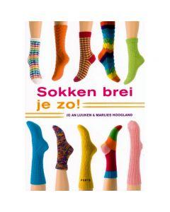 Sokken brei je zo  Jo AN Luijken&Marlies Hoogland