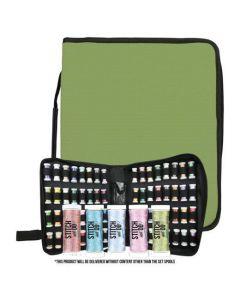 Card Deco Storage Case - Embroidery Thread Spools SETCDESFSET  Startset met 5 kleuren Sparkle Garen