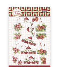 Marieke 3D knipvel CD11319 Christmas Feelings