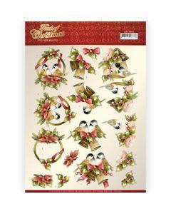 Marieke 3D knipvel CD11503 Christmas