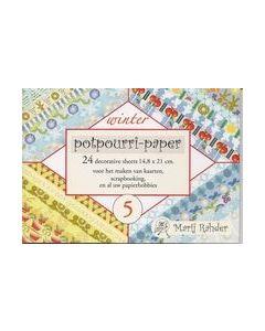 Marij Rahder Potpourri-paper Winter 6   9789088430558_small