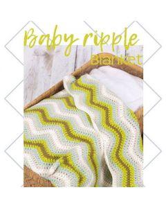 Baby Ripple Blanket  green 014.167