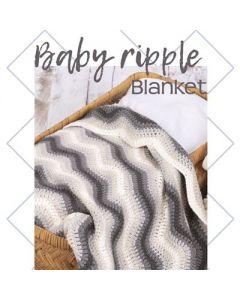 Baby Ripple Blanket Grey 014.169 pakket