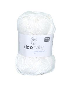 RICO BABY COTTON SOFT DK Wit nr.018 / 383978