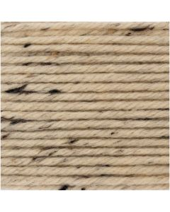 Essentials mega wool Tweed Naturel 007 chunky Rico 100g-125m 55% wol/40%Acryl/5% Viscose
