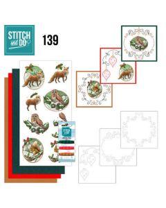Stitch and Do 139 Amy Design  Christmas Animals STDO139