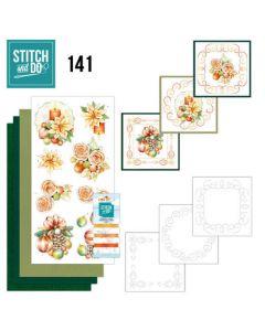 Stitch and Do 141 Jeanine's Art Salmon Christmas Baubles STDO141