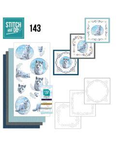 Stitch and Do 143 Amy Design Winter Foxes STDO143