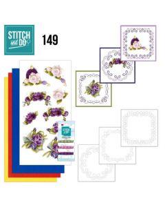 Stitch and Do 149 Precious Marieke Romantic Roses STDO149