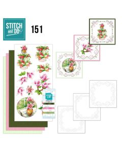 Stitch and Do 151 Jeanine's Art  Welcome Spring STDO151