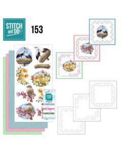 Stitch and Do 153  Amy Design Enjoy Spring STDO153